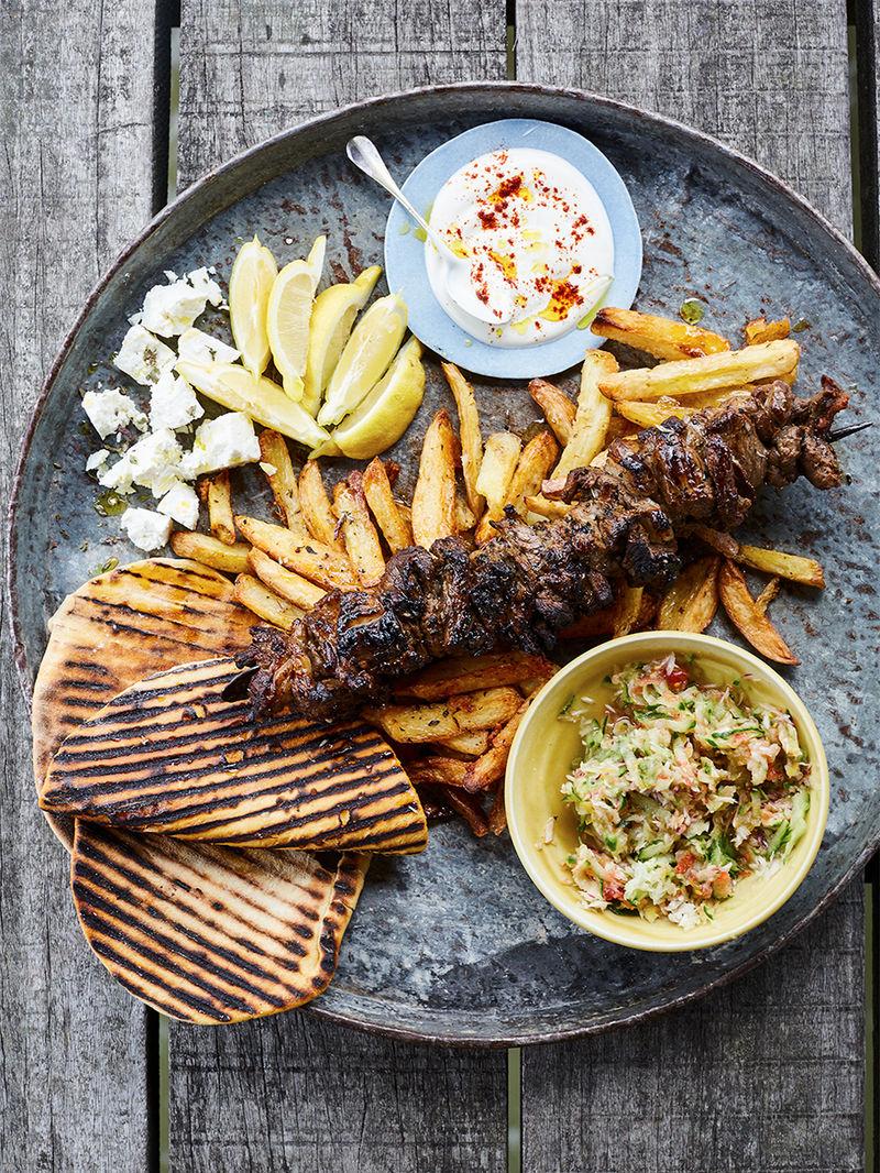Epic lamb kebabs