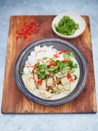 Greg Davies' Thai green chicken curry