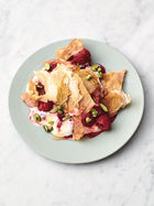 Honey berry filo smash
