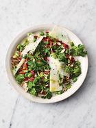 Broad bean salad