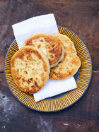 Fluffy coconut breads