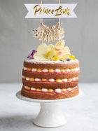 Louis' royal rhubarb & custard cake