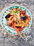 Summer fish stew