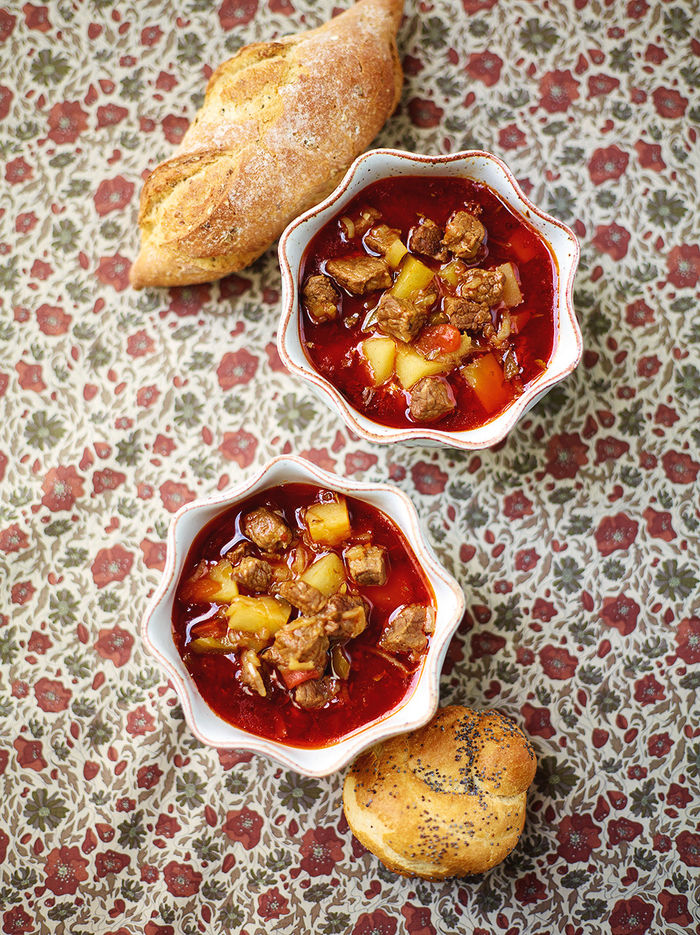 Goulash Soup Beef Recipes Jamie Oliver
