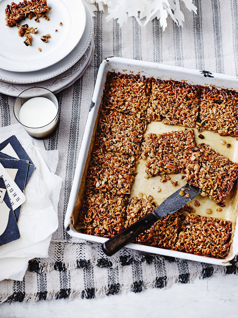 Spiced flapjacks