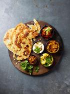 Harry Hill's vegetarian thali