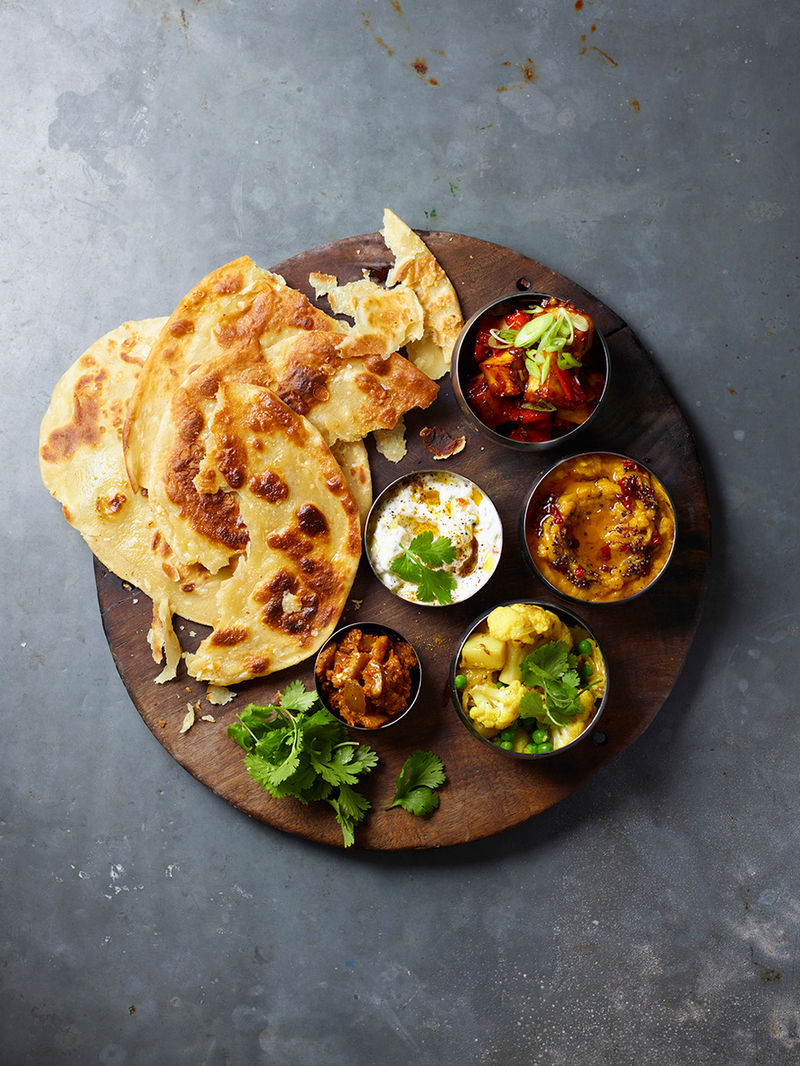 Harry Hill's vegetarian thali