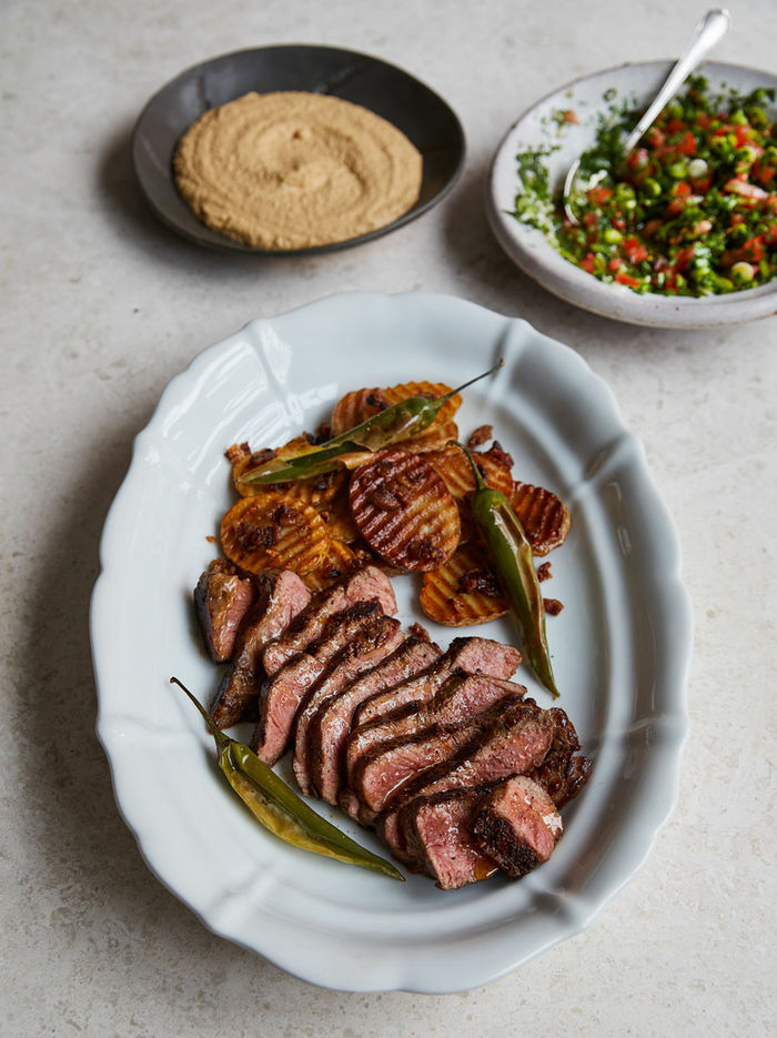 Mexican-style steak