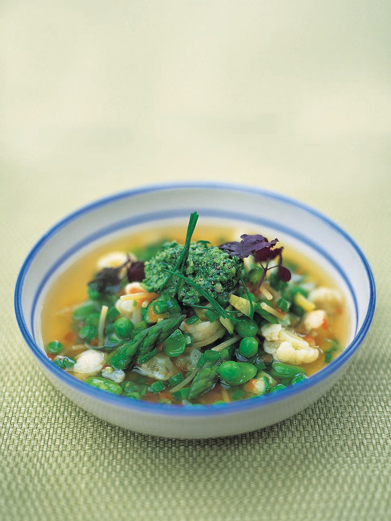 Spring Minestrone Jamie Oliver Vegetable Recipes