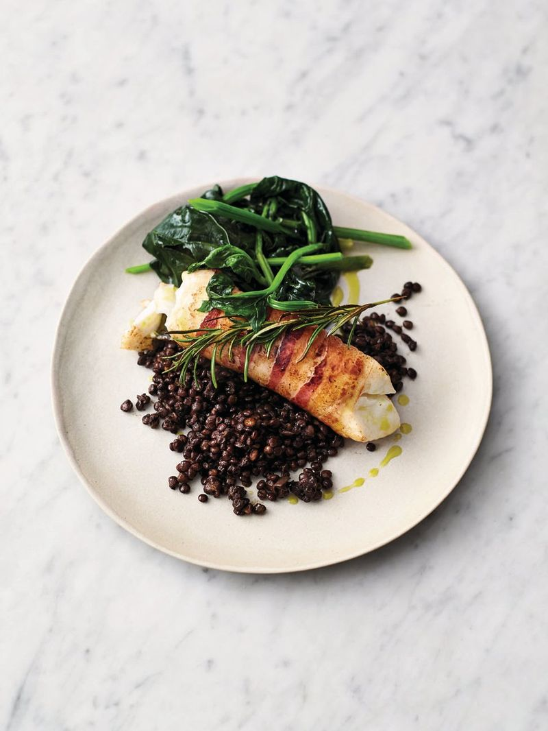 Smoky Pancetta Cod Fish Recipes Jamie Oliver Recipes