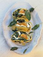 Rotolo of spinach, squash & ricotta