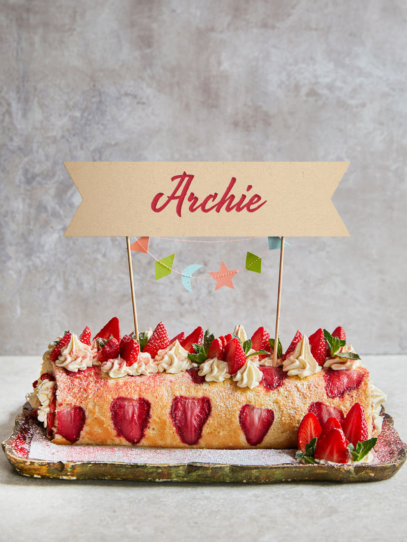 Archie's royal roulade