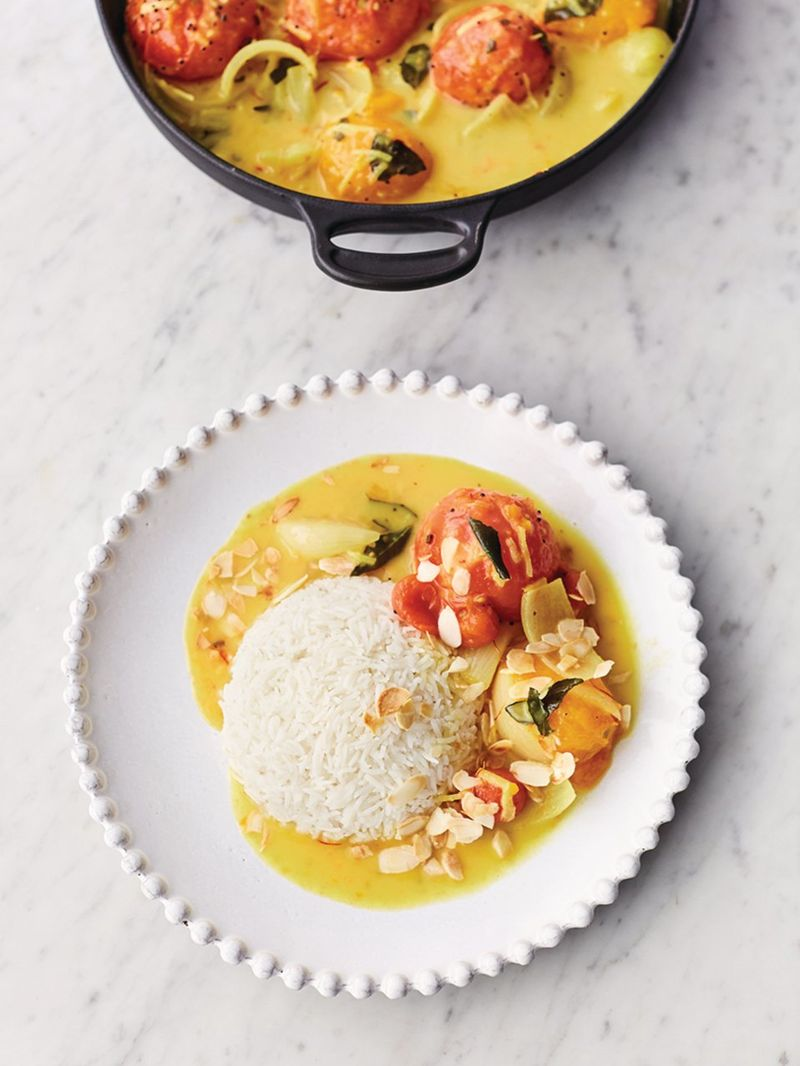 Amazing tomato curry