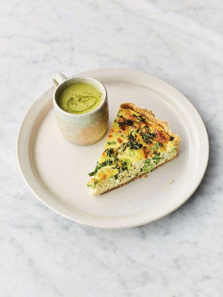 Asparagus Quiche Soup Jamie Oliver Asparagus Recipes