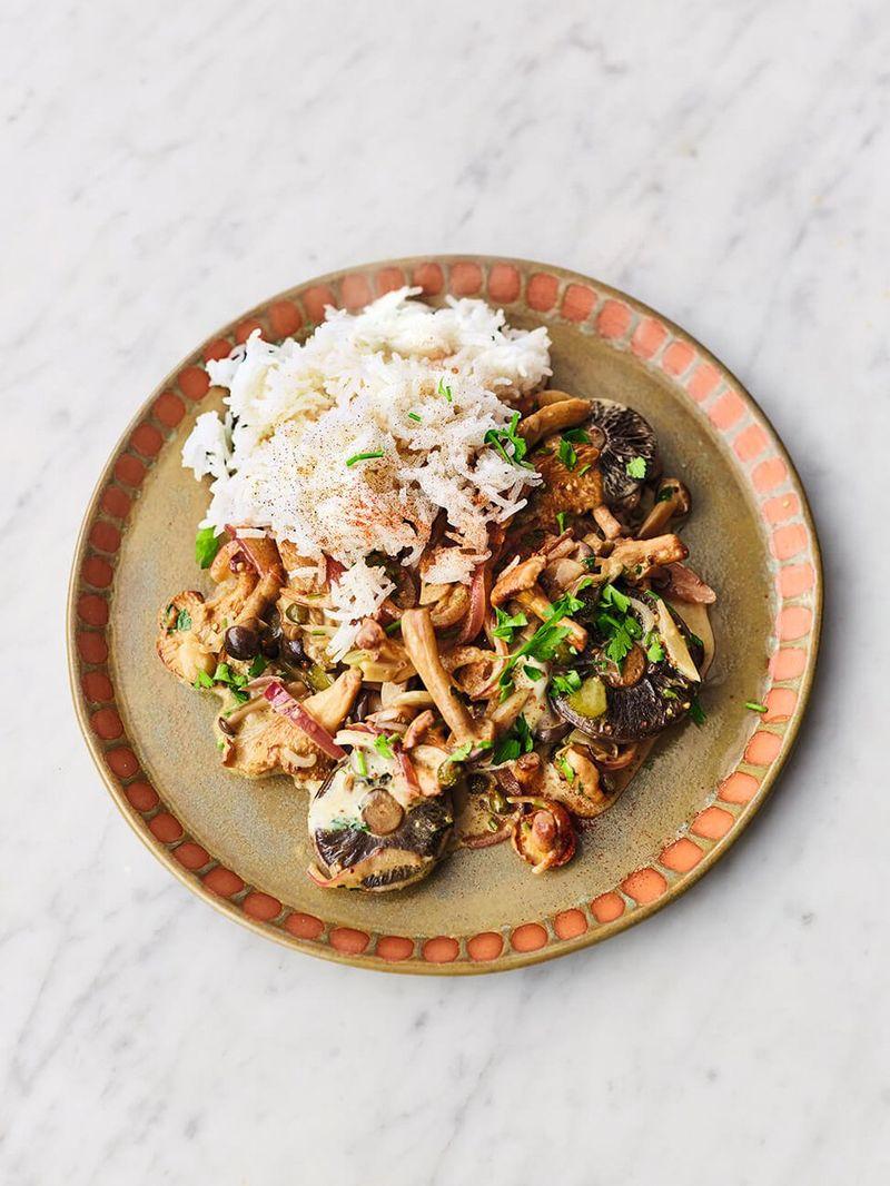 Mushroom Stroganoff Jamie Oliver Mushroom Recipes