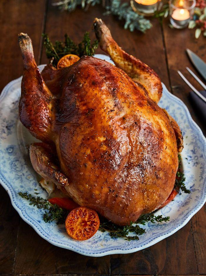 Roast turkey for 12