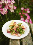 Crispy chorizo & squid salad