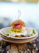 Lobster burger