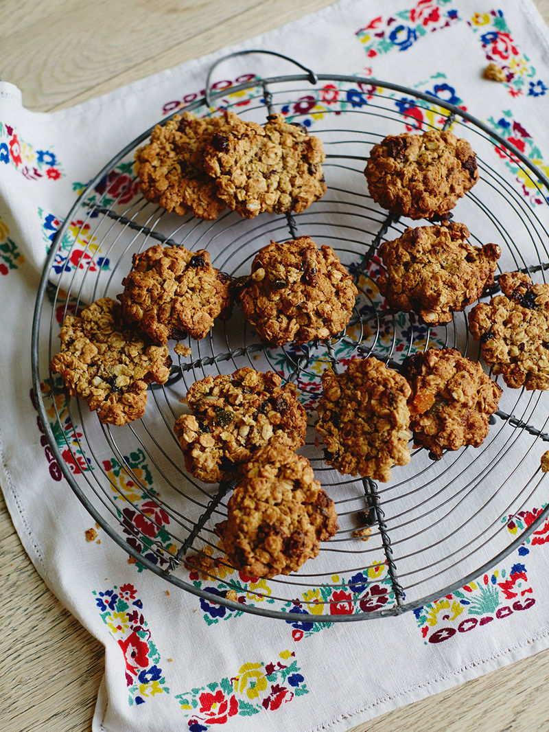 Oat And Fruit Cookie Recipe Jools Oliver Recipes