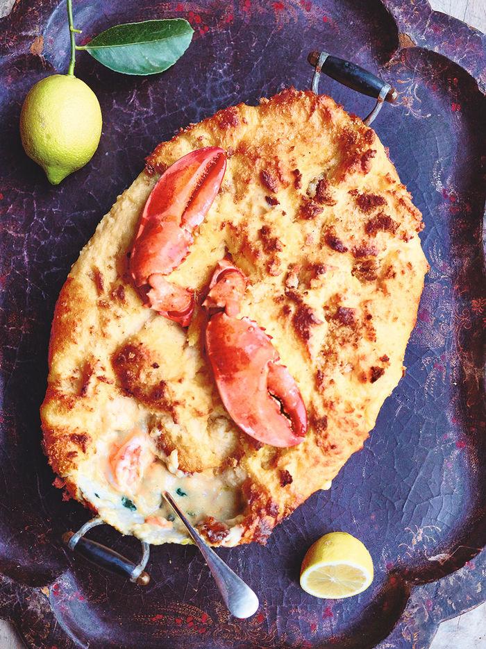 Luxurious fish pie