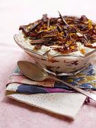 Christmas cake trifle