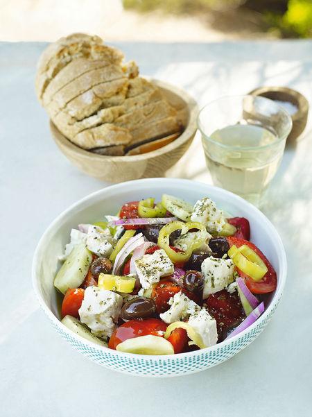 Greek Salad Recipe Jamie Oliver