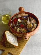 Spanish rabbit stew
