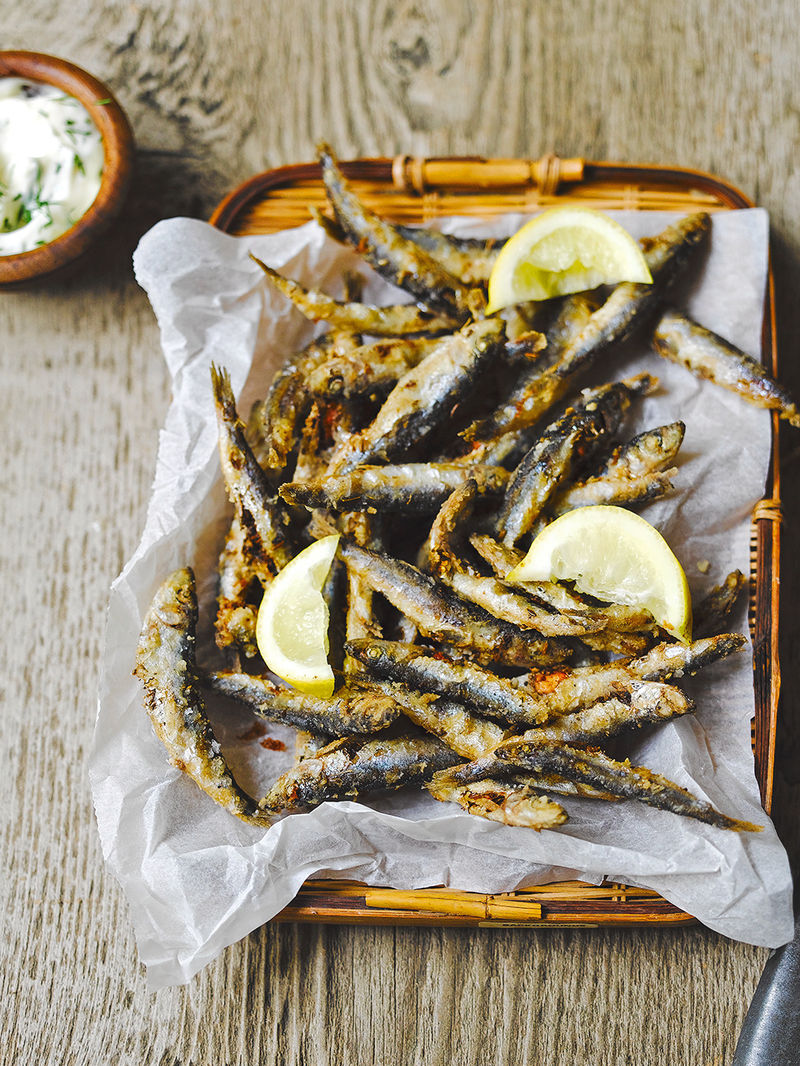 Whitebait and dill mayo | Fish recipes | Jamie magazine