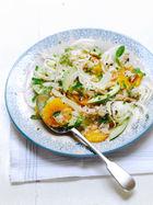 Fennel, crab & orange salad