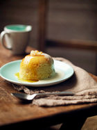 Pear & ginger pudding