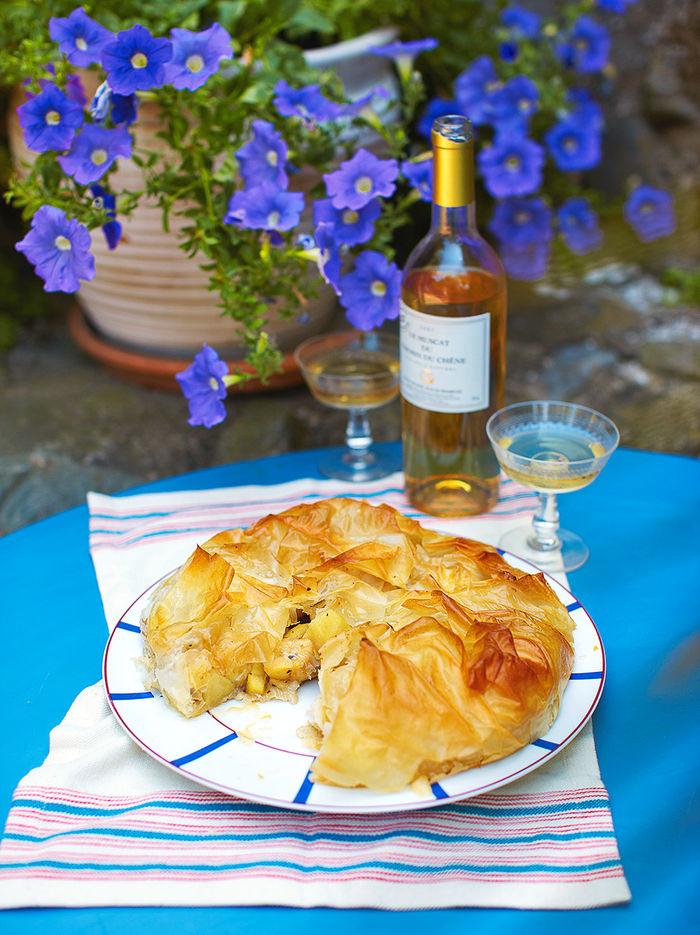 Croustade (apple tart)