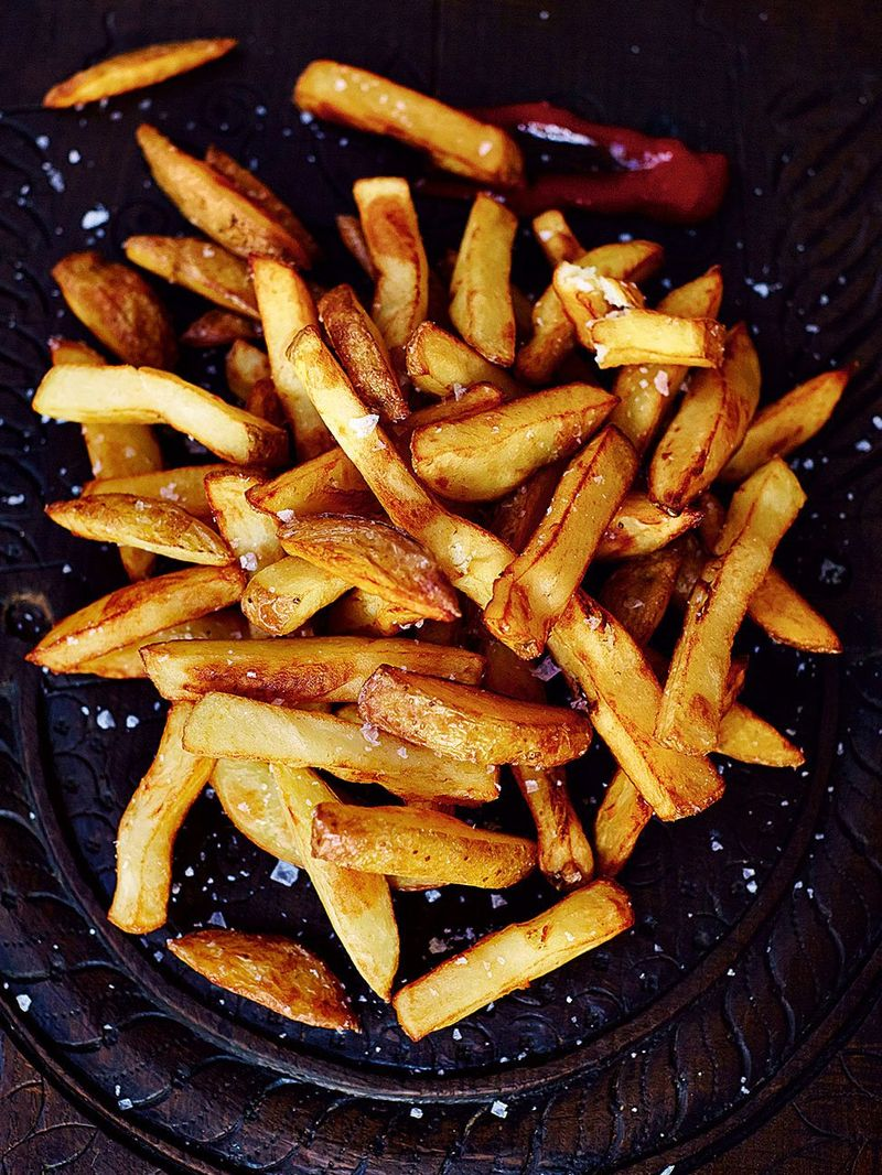 Homemade Chips Recipe Jamie Oliver Potato Recipes