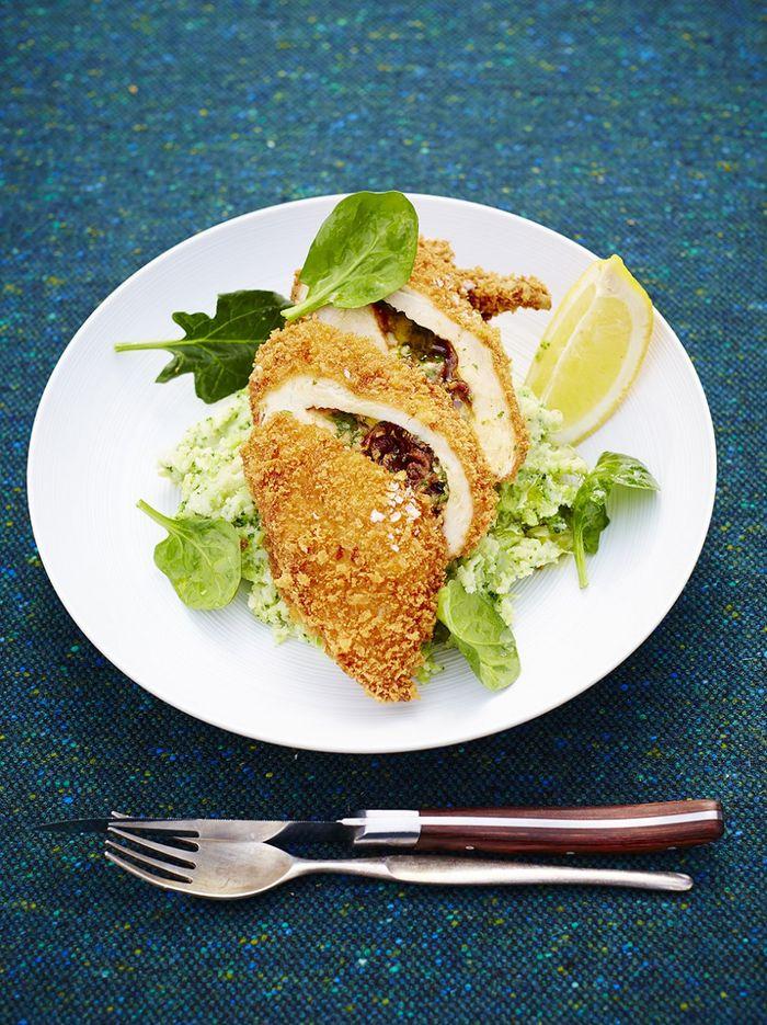 Homemade Chicken Kiev Recipe Jamie Oliver Chicken Recipes
