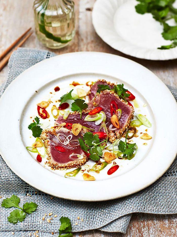 Asian seared tuna
