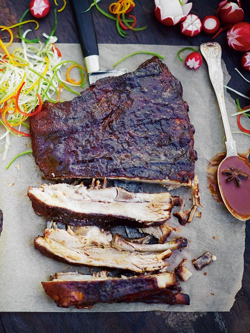 Sticky Chinese Ribs Pork Recipes Jamie Oliver