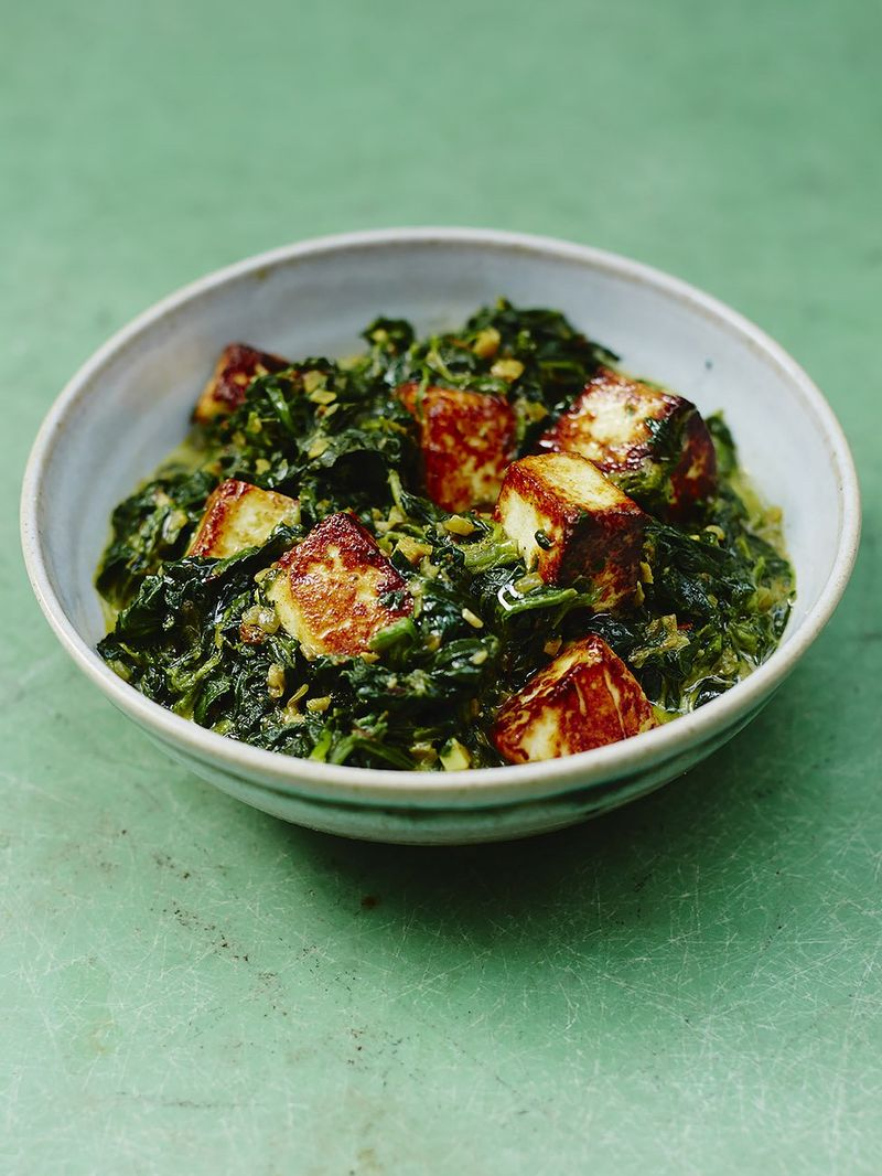 Saag Paneer Vegetables Recipes Jamie Oliver Recipe