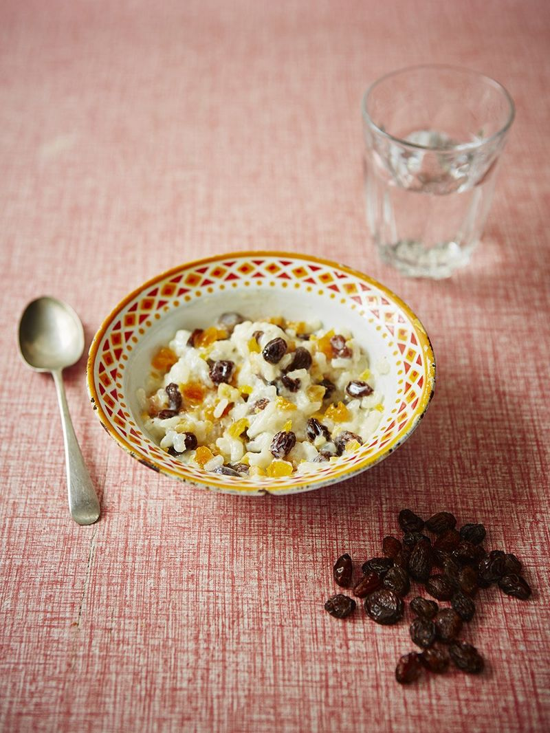 Helen's rice pudding with raisins