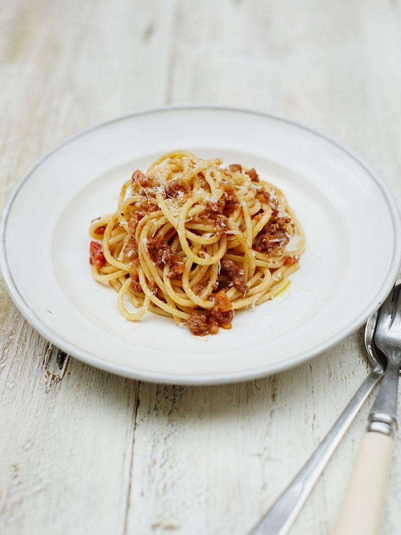 Deliciously Easy Spaghetti Bolognese Recipe Jamie Oliver