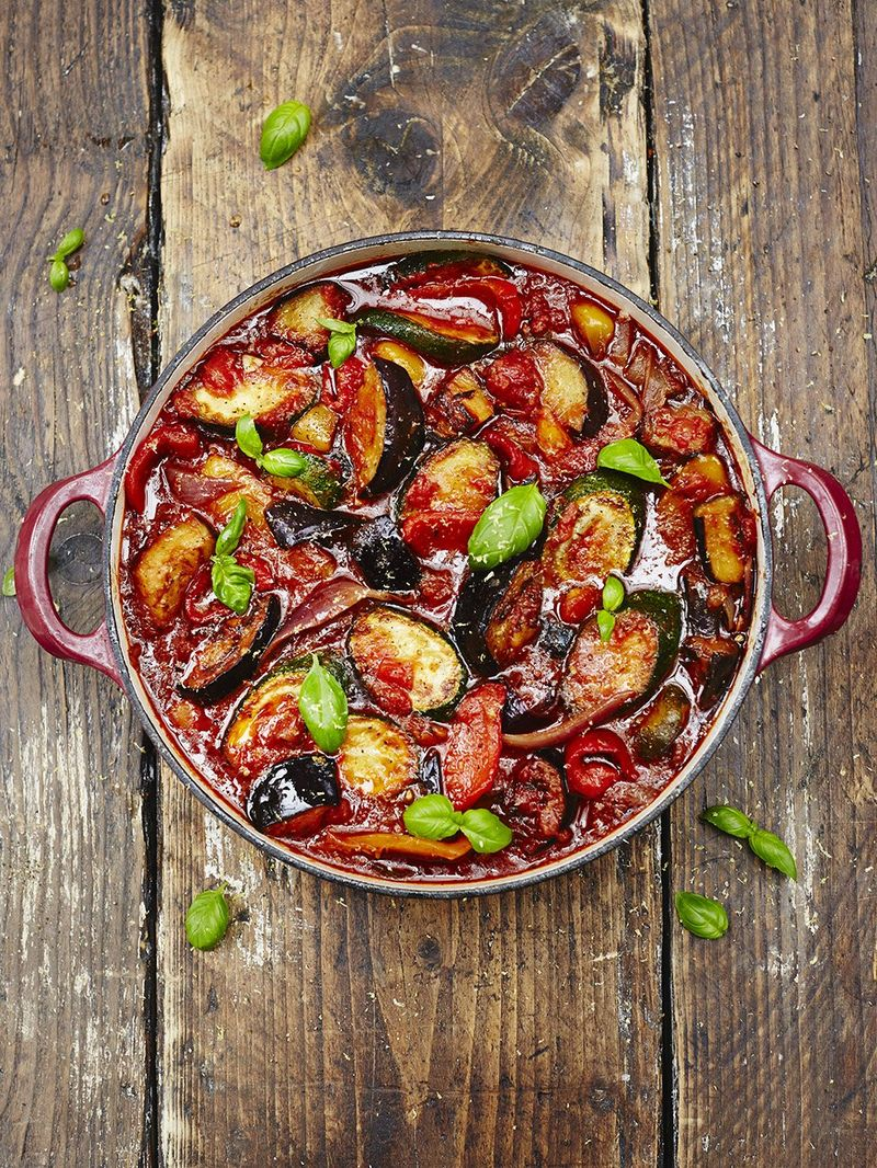 Best Ratatouille Recipe Jamie Oliver Veggie Recipes