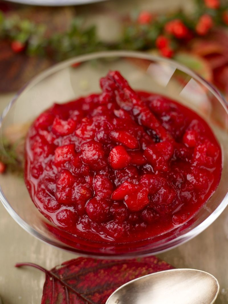 Apple Cranberry Sauce Fruit Recipes Jamie Oliver Recipes
