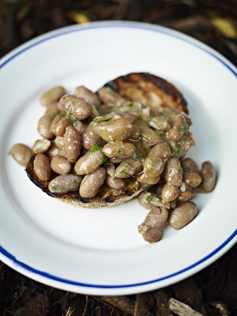 Humble home-cooked beans