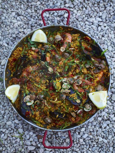 My Favourite Paella Seafood Recipes Jamie Oliver Recipes