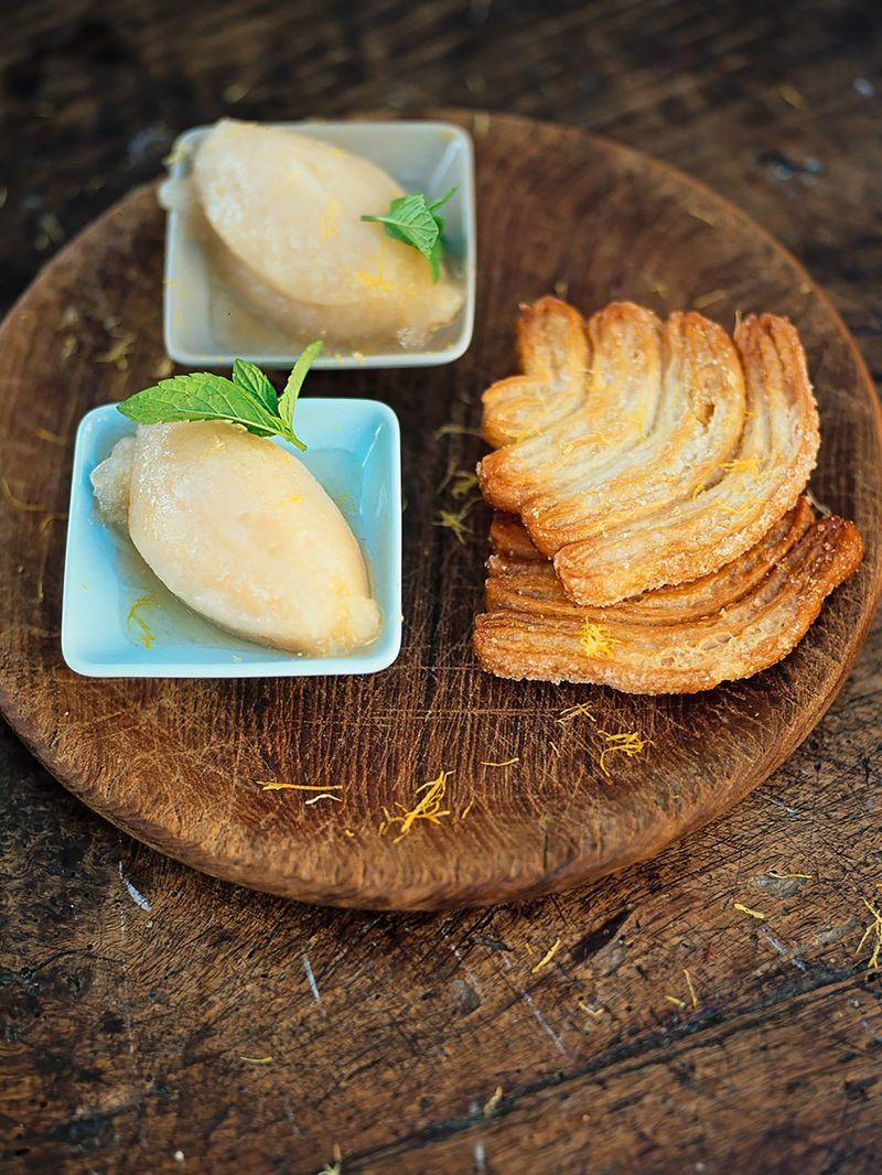 Pear sorbet (Sorbetto di pere)