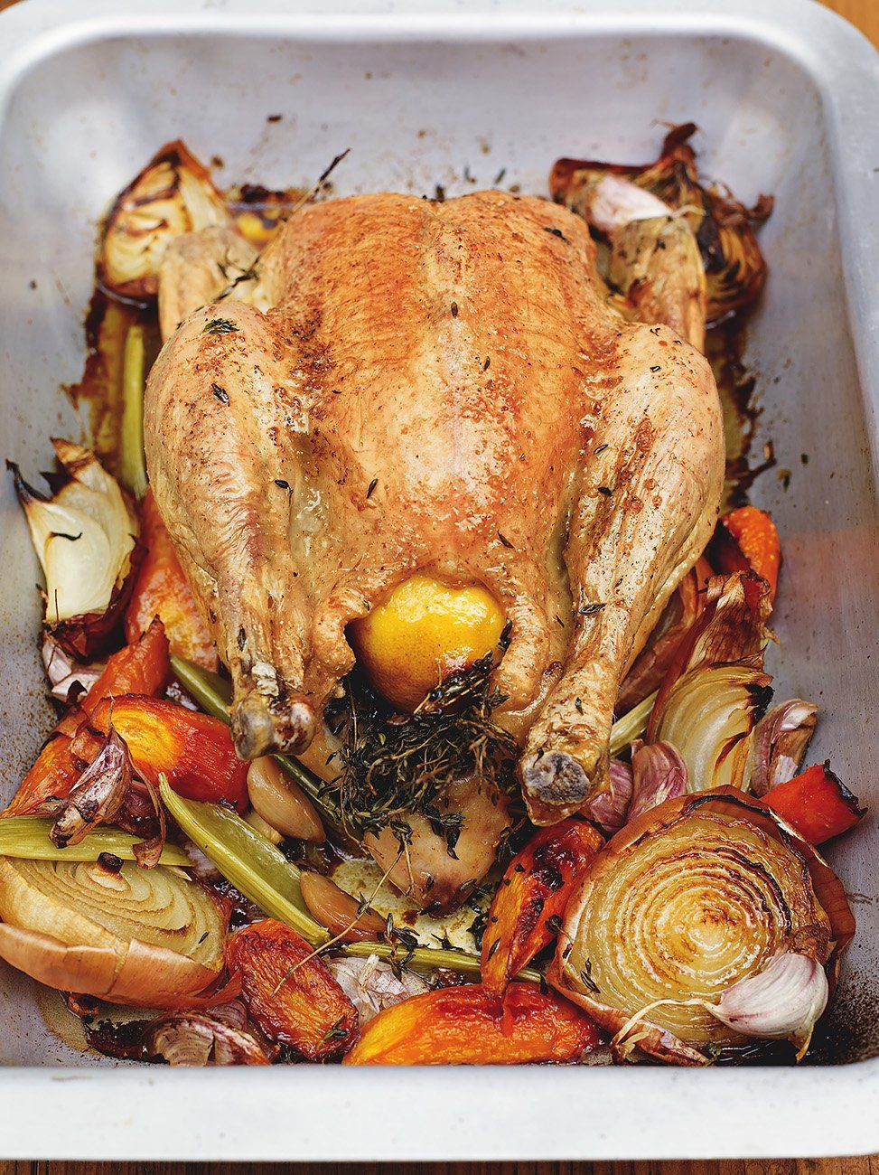 Perfect Roast Chicken Recipe Jamie Oliver Christmas Recipes