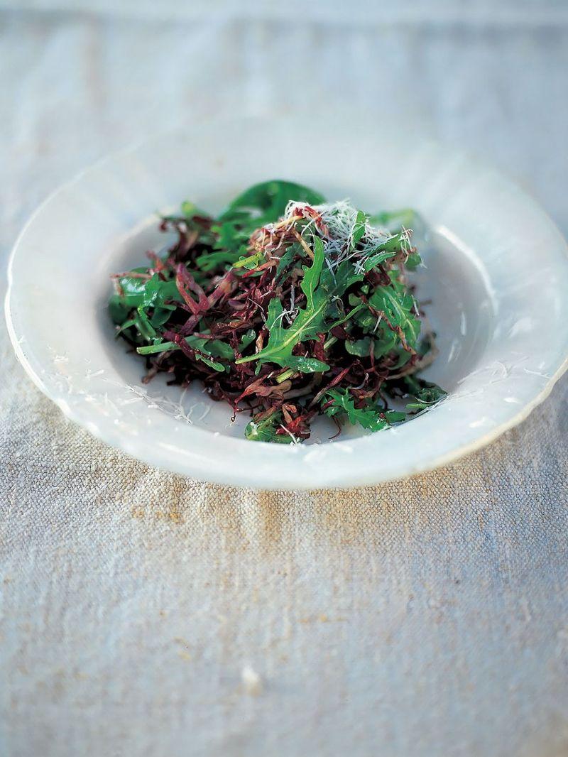Radicchio and rocket salad (Insalata di radicchio e rughetta)