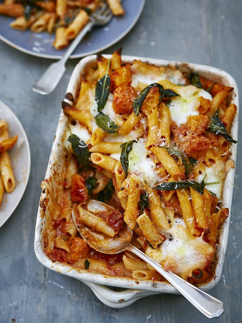 Squash Ricotta Bake Pasta Recipes Jamie Oliver Recipes
