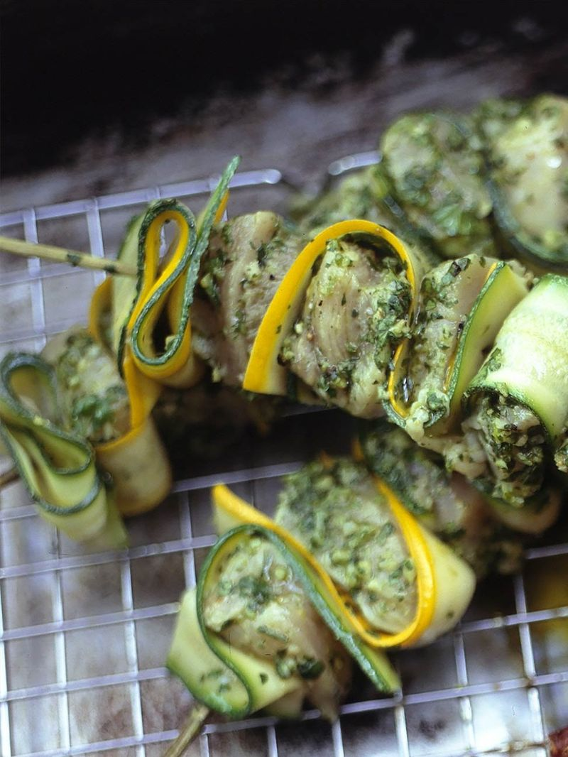 The best marinated chicken kebabs