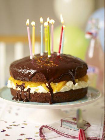Children's party cake