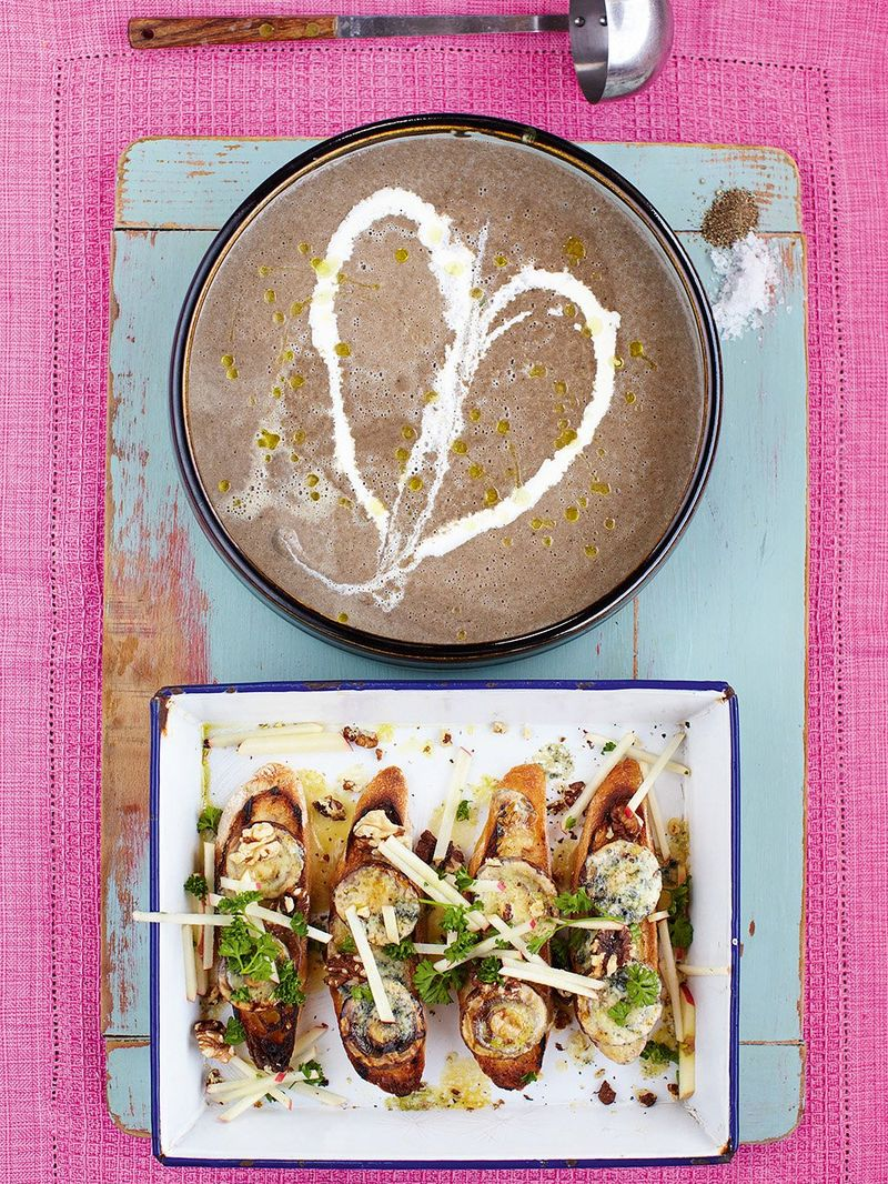 Mushroom Soup Vegetables Recipes Jamie Oliver Recipes