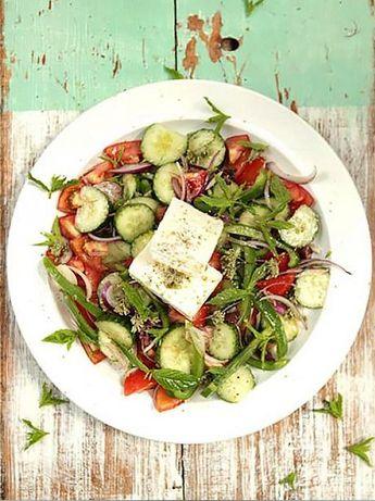 Gorgeous Greek salad